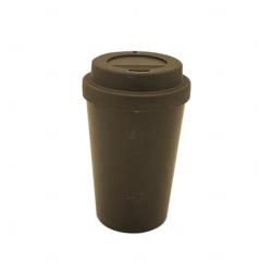 Copo de Café e Chá Personalizado - 300 ml Marrom