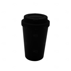 Copo de Café e Chá Personalizado - 300 ml Preto