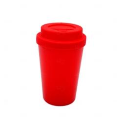 Copo de Café e Chá Personalizado - 300 ml Vermelho