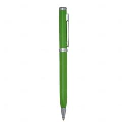 Caneta Semimetal Personalizada Verde Claro