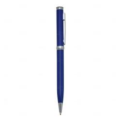 Caneta Semimetal Personalizada Azul Marinho