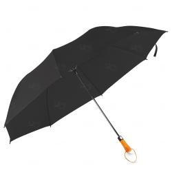 Guarda-Chuva c/ Cabo Madeira Personalizado Preto