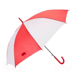 Guarda-Chuva Colorido Personalizado Vermelho
