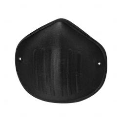 Máscara Reutilizável de Microfibra Personalizada Preto