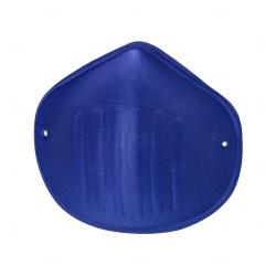 Máscara Reutilizável de Microfibra Personalizada Azul