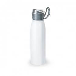 Squeeze De Alumínio Personalizada - 650ml Branco