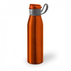 Squeeze De Alumínio Personalizada - 650ml Laranja