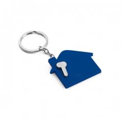 Chaveiro Casinha Personalizado Azul