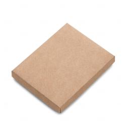 Embalagem P/ Caderneta Tipo Moleskine Personalizado - 19,3x15,3cm Kraft