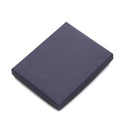 Embalagem P/ Caderneta Tipo Moleskine Personalizado - 19,3x15,3cm Azul