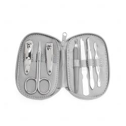 Kit Manicure Personalizado - 7 Peças Prata