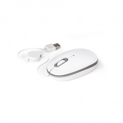 Mouse Ótico Personalizado Branco