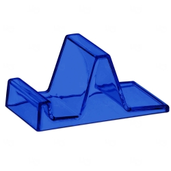 Suporte De Acrílico Personalizado Azul