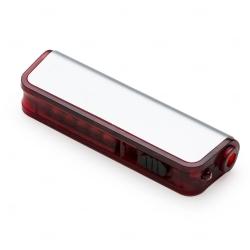 Kit Ferramenta Com Lanterna Personalizado - 6 Peças Vermelho