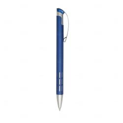 Lapiseira com Traços De Metal Personalizada Azul