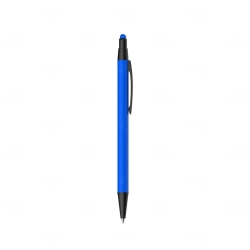Caneta Metal Touch Personalizada Azul
