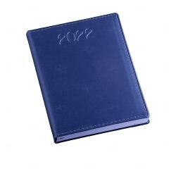 Agenda Diária 2022 Personalizada - 20 x 14,90 cm Azul