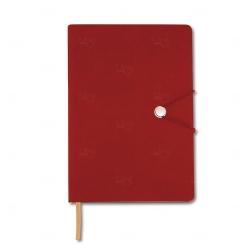 Caderneta Tipo Moleskine Personalizada - 21 x 14,8 cm