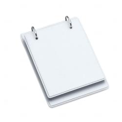 Bloco de Anotação Personalizada - 19,3 x 13,8 cm Branco
