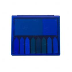 Bloco de Anotações com Autoadesivos Personalizado - 11,40 x 13,20 Azul