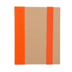 Bloco de Anotação Personalizado - 18,1 x 14,1 cm Laranja