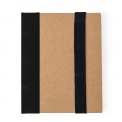 Bloco de Anotação Personalizado - 18,1 x 14,1 cm Preto
