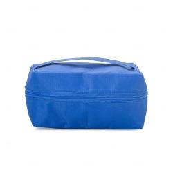Necessaire de Nylon Térmica Personalizada Azul