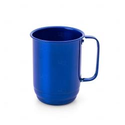 Caneca de Alumínio Personalizado - 500ml Azul