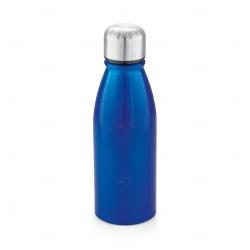 Garrafa de Alumínio Personalizado -  500ml Azul