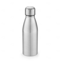 Garrafa de Alumínio Personalizado -  500ml Prata
