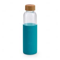 Garrafa de Vidro Personalizado - 600ml Azul Claro