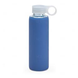 Squeeze de Vidro Personalizado - 380ml Azul