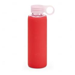 Squeeze de Vidro Personalizado - 380ml Vermelho