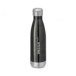 Squeeze Térmico Inox  Personalizado - 510ml Chumbo