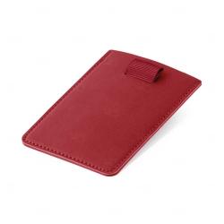 Porta Cartão Personalizado Vermelho