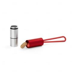 Chaveiro Alumínio Personalizado Vermelho