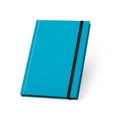 Caderno Capa Dura Personalizado - 21 x 14 cm Azul