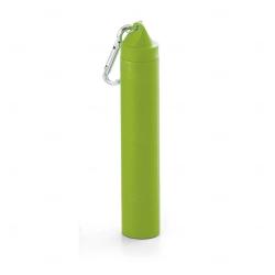 Canudo Fibra de  Bambu Personalizado Verde