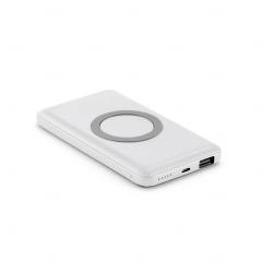 Bateria Portátil Wireless Personalizado - 4.000 mAh Branco