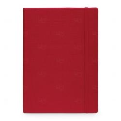 Caderno Capa Dura Personalizado - 14 x 9 cm Vermelho