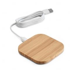 Carregador Wireless Bambu Personalizado