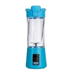 Mini Liquidificador Portátil - 300ml Azul