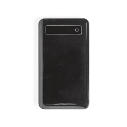 Bateria Portátil Com Ecrã Touch Personalizado - 4.000 mAh Preto