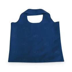 Sacola Dobrável Poliéster Personalizada - 48,5x42 cm Azul