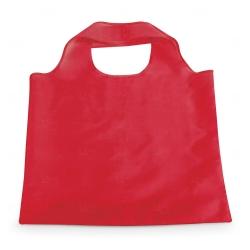 Sacola Dobrável Poliéster Personalizada - 48,5x42 cm Vermelho