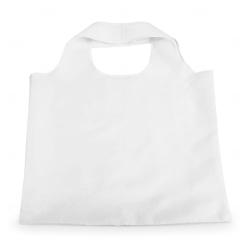 Sacola Dobrável Poliéster Personalizada - 48,5x42 cm Branco