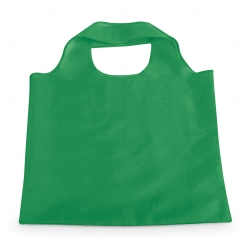 Sacola Dobrável Poliéster Personalizada - 48,5x42 cm Verde