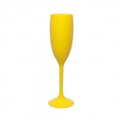 Taça Champagne Personalizada - 160ml Amarelo