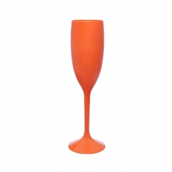 Taça Champagne Personalizada - 160ml Laranja