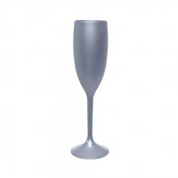 Taça Champagne Personalizada - 160ml Cinza